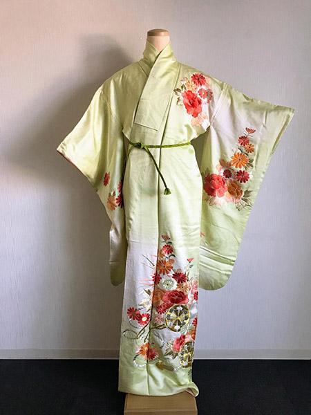 kimono furisode femme