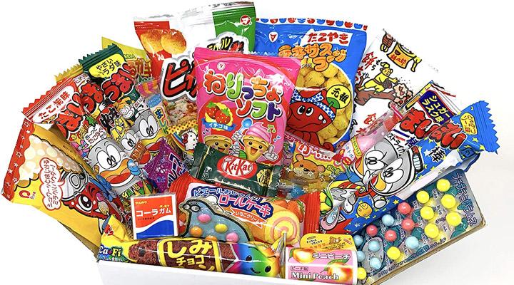 bonbons et snack japonais