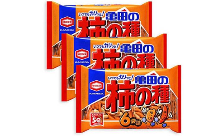 Biscuit au riz Kaki no Tane