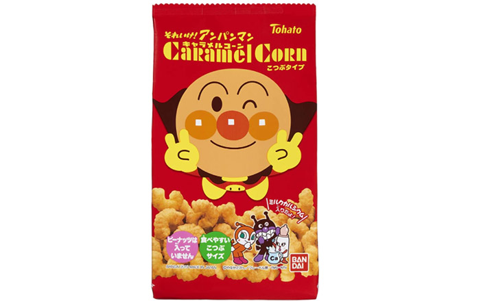 Biscuits de maïs au caramel