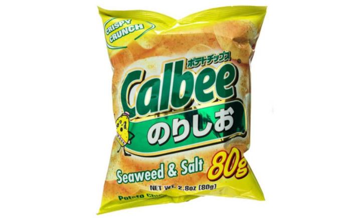 Chips au sel d'algues marines