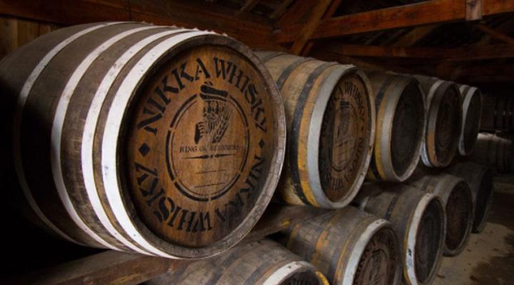 fûts whisky Nikka