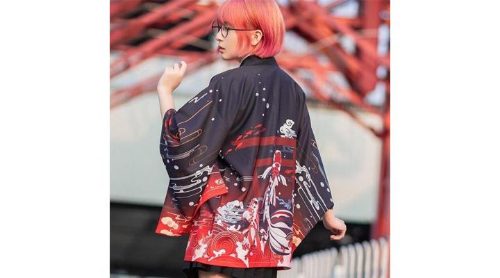 Veste Femme Inspiration Kimono