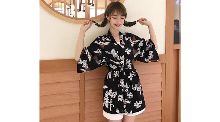 Veste Kimono Femme Haru