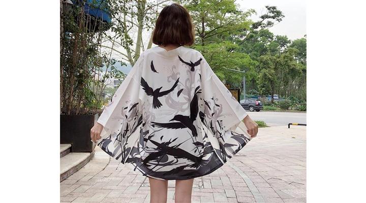 Veste Kimono Femme Karasu