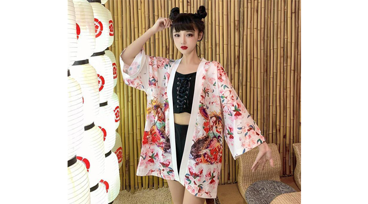 Veste Kimono Femme Maiko