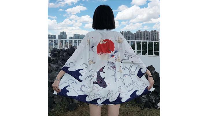 Veste Kimono Femme Misao