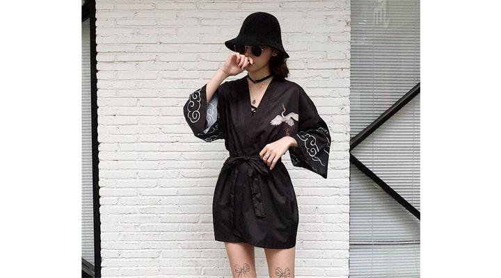 Veste Kimono Femme Tsugai