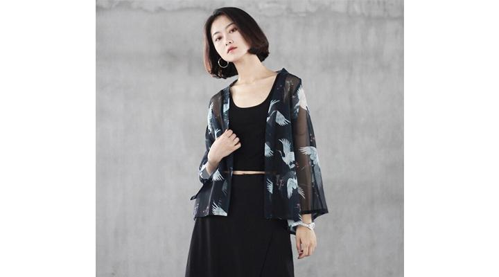 Veste Kimono Légère Femme